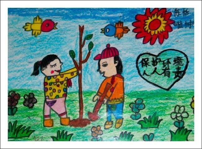 6月5日环保日昌大昌儿童环保绘画作品展(3)图片
